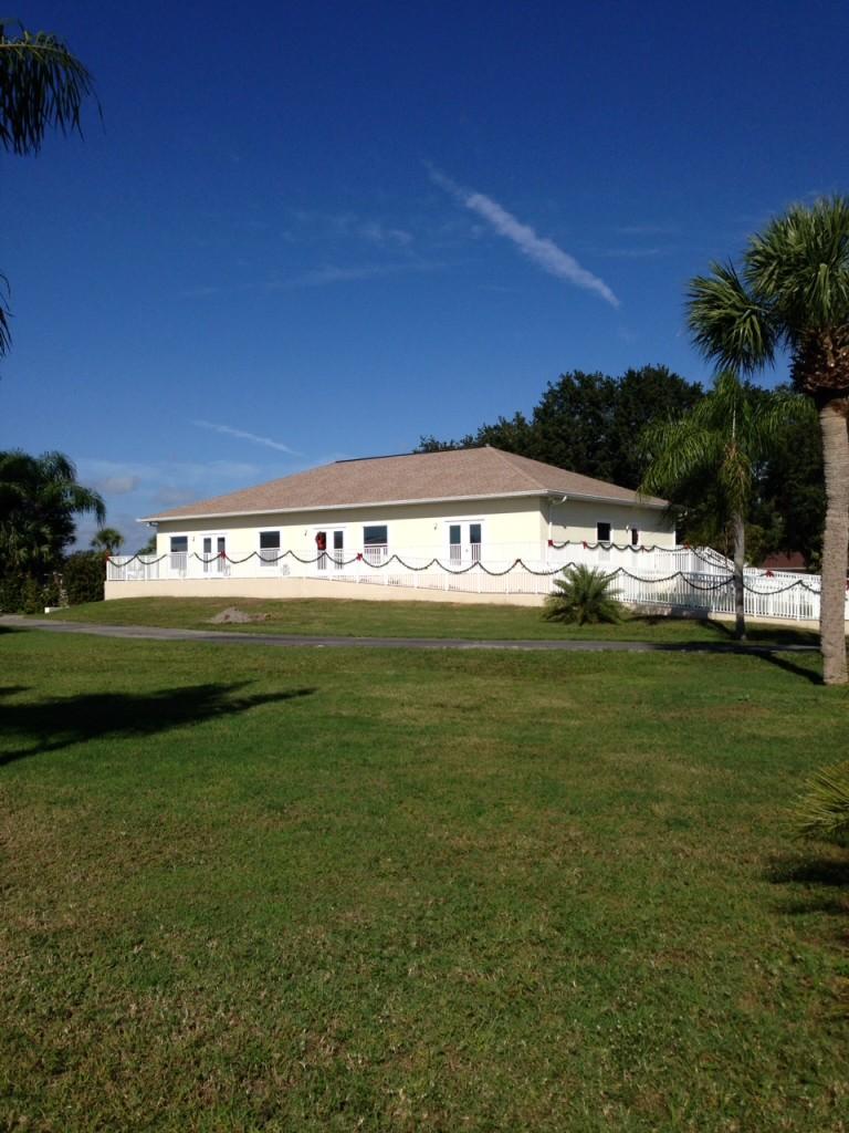 Rec Hall outside 12-2013